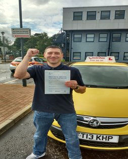 Craig, newly qualified driver