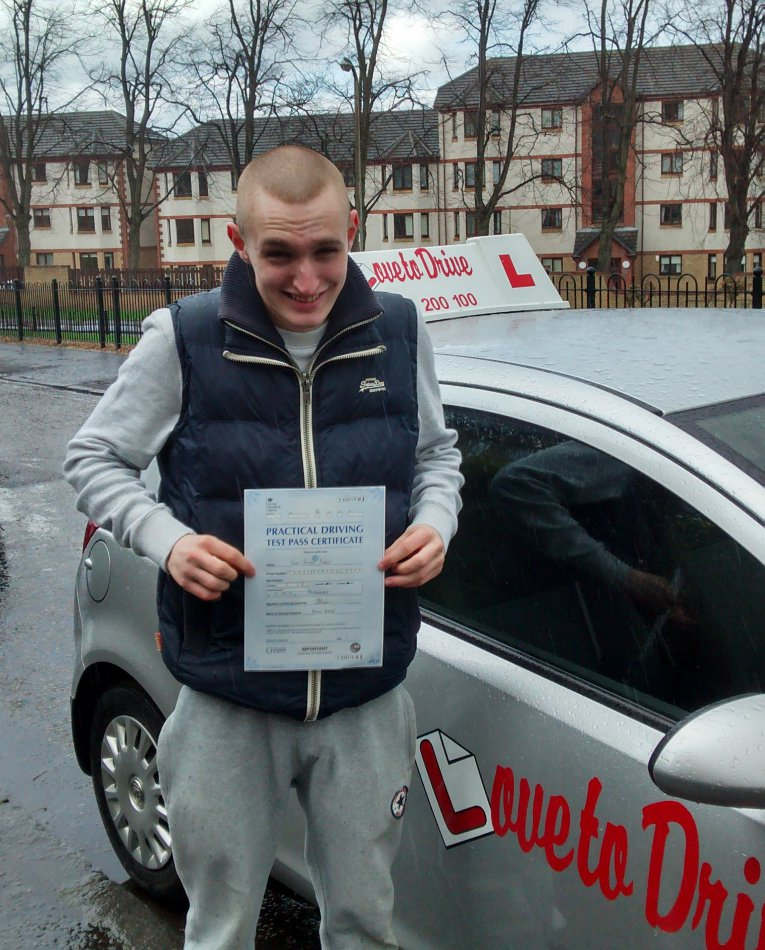 Sean, a newly qualified driver